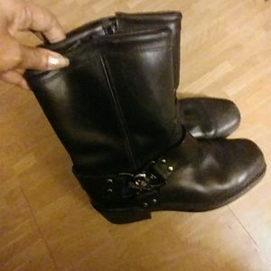 Shoes - Ladies motorcycle boots